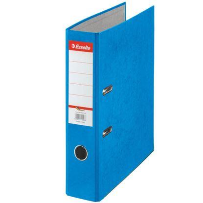 Obrázek Pořadač A4 pákový kartonový Rainbow - hřbet 7,5 cm / modrá / 17925