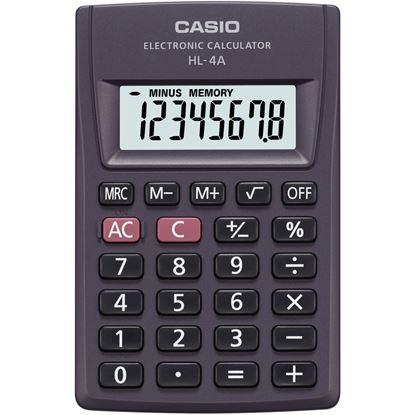 Obrázek Kalkulačka Casio HL 4A - displej 8 míst