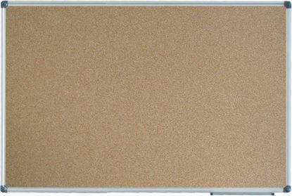 Obrázek Tabule korkové - 90 x 120 cm / Alu rám