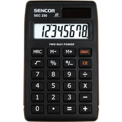 Obrázek Kalkulačka Sencor SEC 250 - displej 8 míst