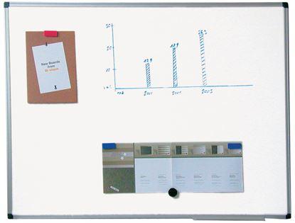 Obrázek Tabule bílá magnetická Premium - 100 x 200 cm