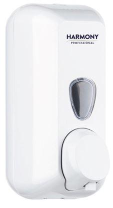 Obrázek Zásobník na pěnové mýdlo Harmony Professional - bílá / 0,5 l