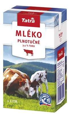 Obrázek Mléko - plnotučné / 1 l