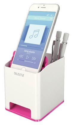 Obrázek Hudební stojánek na psací potřeby WOW - růžovo-bílá