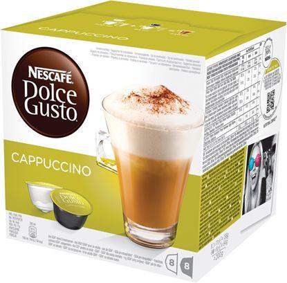 Obrázek Nescafé Dolce Gusto kapsle -  Cappuccino / 8+8 ks