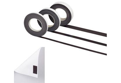 Obrázek Magnetické pásky samolepicí -  25 mm x 10 m