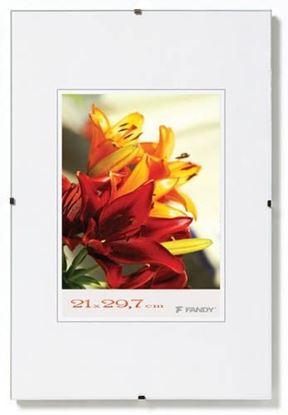 Obrázek Rámy euroklip -  21 x 29,7 cm / plexisklo