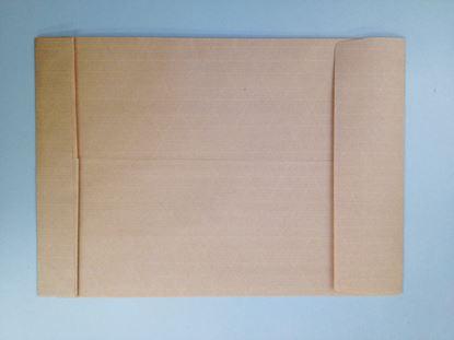 Obrázek Obchodní tašky s křížovým dnem neroztrhnutelná samolepicí - B4