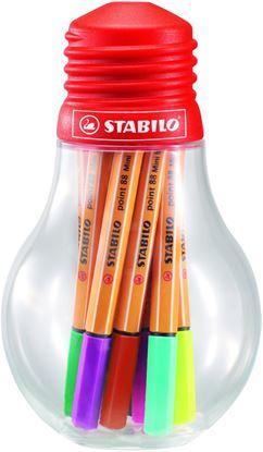 Obrázek Liner STABILO® point 88® Colorful Ideas - sada 12 ks