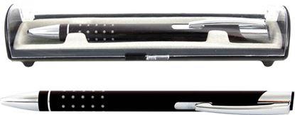 Obrázek Kuličkové pero Veno Rubber - černá