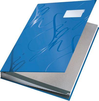Obrázek Designová podpisová kniha Leitz - modrá