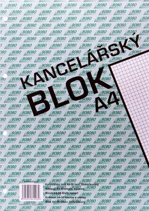 Obrázek Blok kancelářský BOBO - A4 / čtvereček