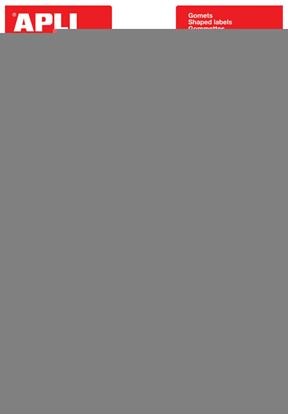 Obrázek Samolepicí hodnotící smajlíci APLI - 144 ks