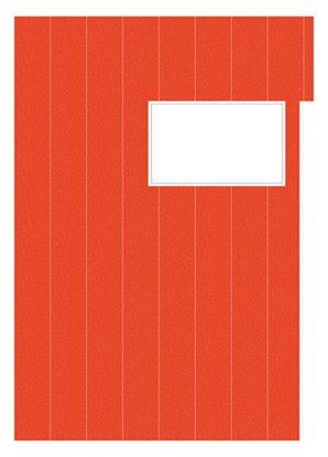 Obrázek Studentský speciál - A4 / náplň červená - linka / 50 listů