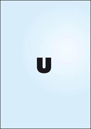 Obrázek Zakládací obal tvar U - tvar U / A4 silný / 100 ks