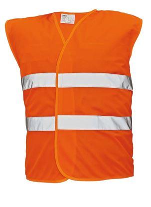 Obrázek Reflexní vesta - oranžová
