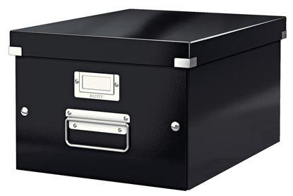 Obrázek Krabice Click & Store - M střední / černá
