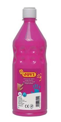 Obrázek Prstové barvy JOVI v láhvi - 750 ml / růžová