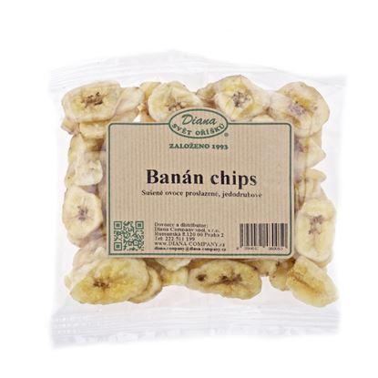 Obrázek Sušené ovoce a oříšky - banánové plátky