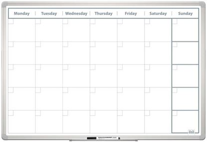 Obrázek Plánovací tabule - měsíční 60 x 90 cm
