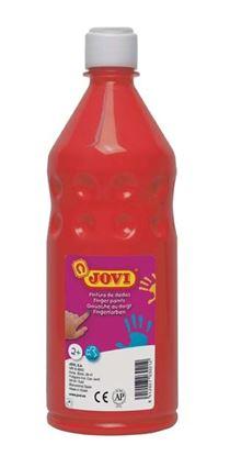 Obrázek Prstové barvy JOVI v láhvi - 750 ml / červená