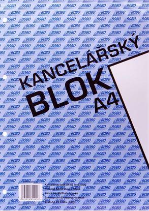 Obrázek Blok kancelářský BOBO - A4 / čistý