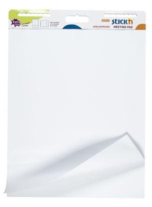 Obrázek Samolepicí flipchart Stick´n by Hopax - bílá / 30 listů