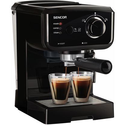 Obrázek Pákový espresso kávovar Sencor - SES 2010BK