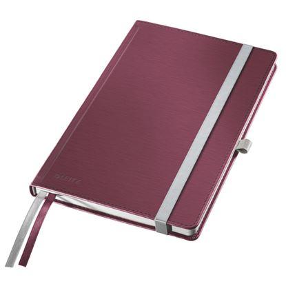 Obrázek Kniha záznamní Leitz Style - A5 / granátově červená