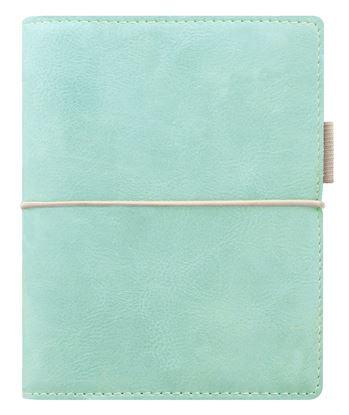 Obrázek Diář Filofax Domino Soft - kapesní / 81 x 120 mm / pastelová zelená