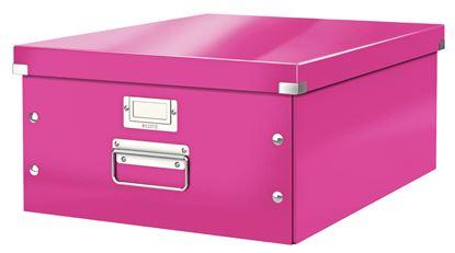 Obrázek Krabice Leitz Click & Store - L velká / růžová