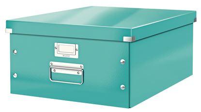 Obrázek Krabice Leitz Click & Store - L velká / tyrkysová