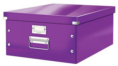 Obrázek Krabice Leitz Click & Store - L velká / fialová