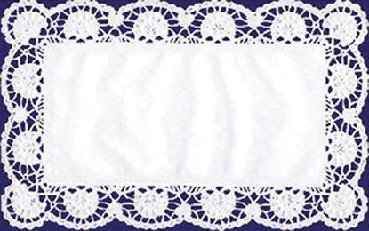 Obrázek Dortová krajka - obdélník / 40 x 20 cm / 6 ks