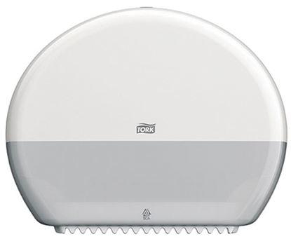 Obrázek Zásobník na toaletní papír Tork Elevation - Mini / 275 x 345 x 132 mm, bílý