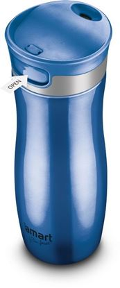 Obrázek Termohrnek LAMART CONTI - modrý / 480 ml