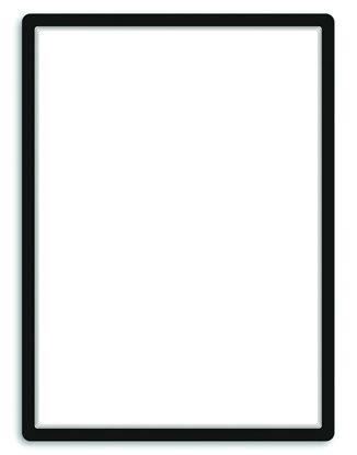 Obrázek Kapsy samolepicí Tarifold Magneto - 50 x 70 cm / černá / 1 ks