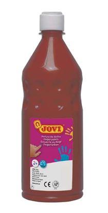 Obrázek Prstové barvy JOVI v láhvi - 750 ml / hnědá