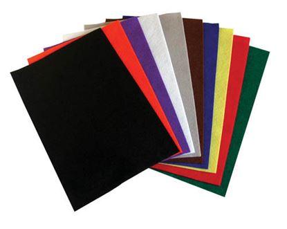 Obrázek Dekorační filc - 20 x 30 cm / barevný mix