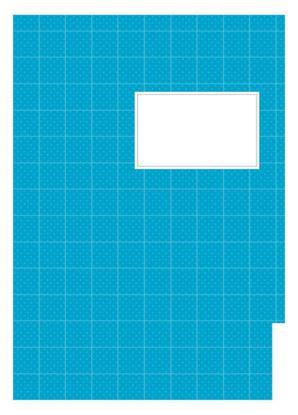 Obrázek Studentský speciál - A4 / náplň modrá - čistá / 50 listů
