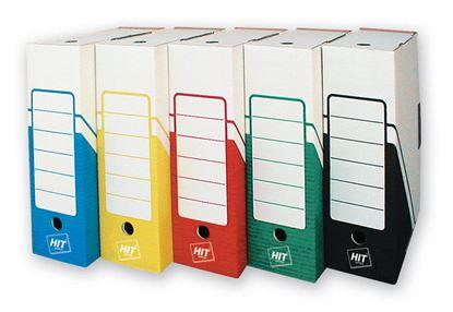 Obrázek Box archivní A4 - hřbet 10 cm / zelená