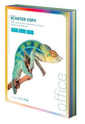 Obrázek Barevné papíry A4 80 g - světlá duha / 100 listů / barevný mix