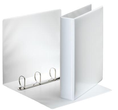 Obrázek Esselte pořadač A4 kroužkový prezentační 6,2 cm 4-kroužek bílá