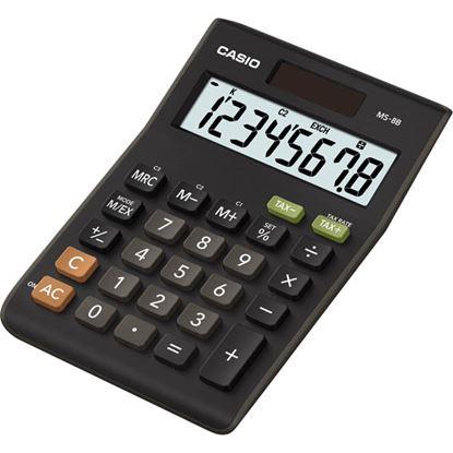 Obrázek Casio MS 8 B S stolní kalkulačka displej 8 míst