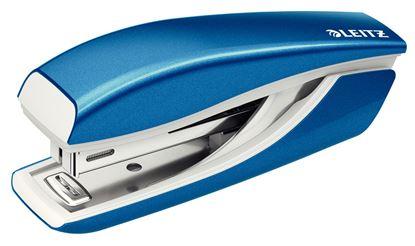 Obrázek Kancelářský sešívač mini 5528 - metalická modrá