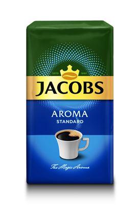 Obrázek Káva Jacobs Aroma Standard - mletá / 250 g