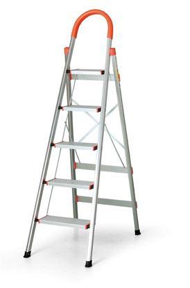 Obrázek Schůdky hliníkové skládací -  1,64 m / 5 schodů