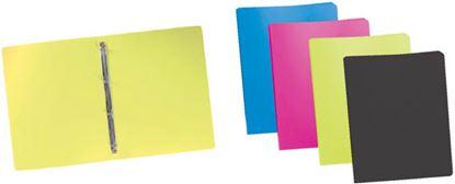 Obrázek Desky A4 kroužkové neprůsvitné - 4 - kroužek / lime