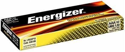 Obrázek Baterie Energizer alkalické - baterie mikrotužka AAA / 10 ks / Family pack