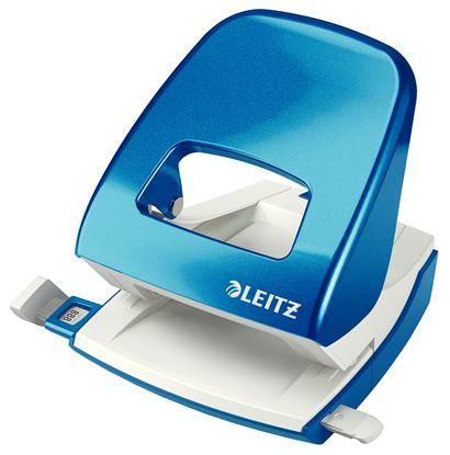 Obrázek Kancelářský děrovač Leitz 5008  -  metalická modrá